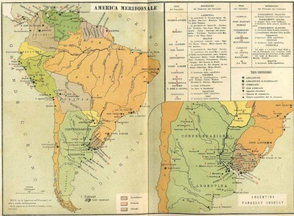 Atlante_Annuario_Diplomatico_Consolare_1890_America_Latina